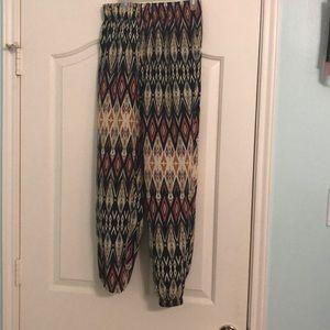 Multicolor Parachute Pants